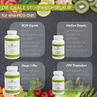 VitaCare 21-Tage-Stoffwechselkur + Daily One Proteinshake Vanille